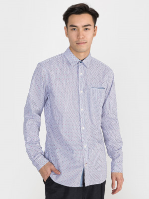 Dylan Košile Jack & Jones Modrá