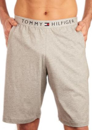 Pánské kraťasy Tommy Hilfinger UM0UM01203 L Šedá