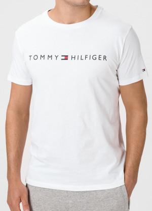 Pánské tričko Tommy Hilfiger UM0UM01434 L Bílá