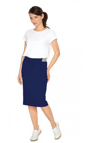 Dámská sukně 105118 - Wadima tmavě modrá M -