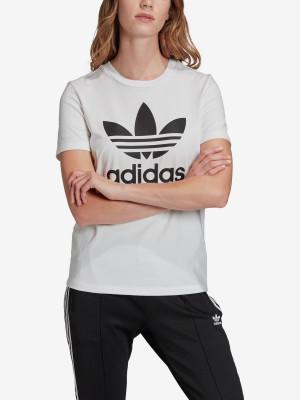 Tričko adidas Originals Trefoil Tee Bílá