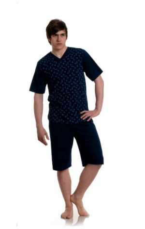 Gucio 727 Pánské pyžamo L mix barva-mix vzor