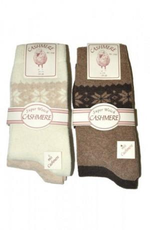 Ulpio Cashmere 7709/7710 A'2 Ponožky 35-38 mix barva