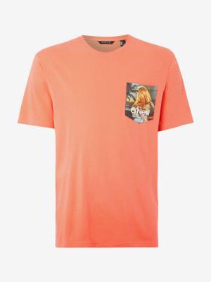 Tričko O'Neill Lm Print T-Shirt Oranžová