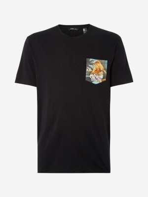 Tričko O'Neill Lm Print T-Shirt Černá