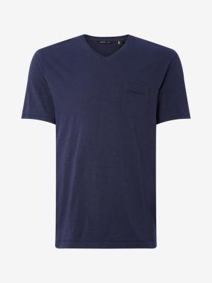 Tričko O'Neill Lm Essentials V-Neck T-Shirt Modrá