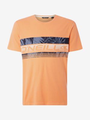 Tričko O'Neill Lm Puaku T-Shirt Oranžová