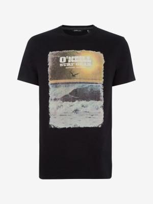 Tričko O'Neill Lm Surf Gear T-Shirt Černá