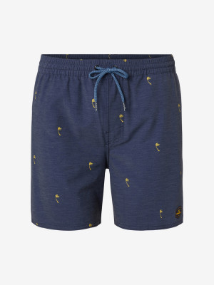 Boardshortky O'Neill Pm Mini Palms Shorts Modrá