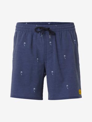 Boardshortky O'Neill Pm Mini Palms Shorts Modrá