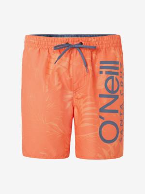 Boardshortky O'Neill Pm Cali Floral Shorts Oranžová