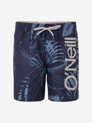 Boardshortky O'Neill Pm Cali Floral Shorts Modrá