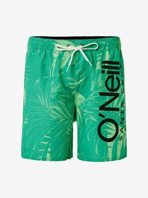 Boardshortky O'Neill Pm Cali Floral Shorts Zelená