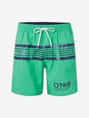 Boardshortky O'Neill Pm Cali Stripe Shorts Zelená