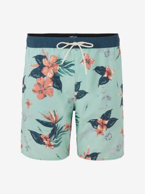 Boardshortky O'Neill Pm Bloom Shorts Zelená