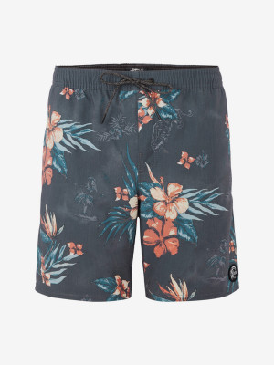 Boardshortky O'Neill Pm Bloom Shorts Modrá