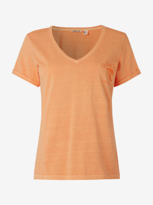 Tričko O'Neill Lw Giulia T-Shirt Oranžová