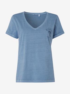 Tričko O'Neill Lw Giulia T-Shirt Modrá