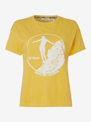 Tričko O'Neill Lw Olympia T-Shirt Žlutá