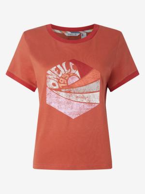 Tričko O'Neill Lw Katie T-Shirt Červená