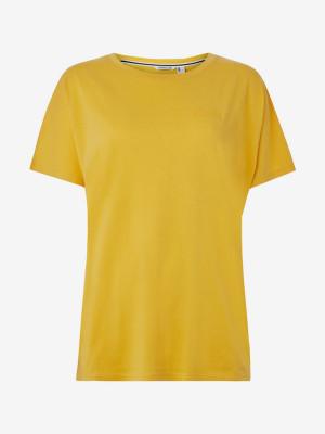 Tričko O'Neill Lw Essentials Drapey T-Shirt Žlutá