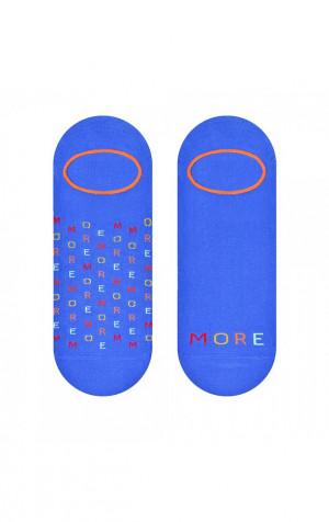 Asymetrické pánské ponožky ťapky More 009 černá 39-42