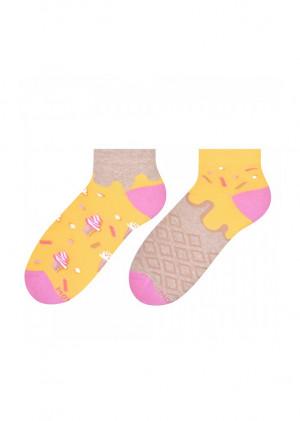 Asymetrické dámské ponožky More 034 mátová 39-42