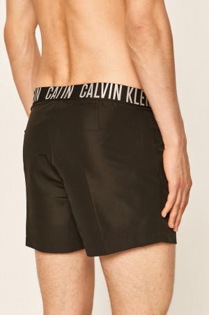 Pánské plavky KM0KM00443-BEH černá - Calvin Klein černá