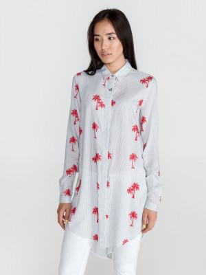 Košile Versace Jeans Bílá