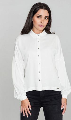 Košile s dlouhým rukávem M582 - Figl ecru L/XL