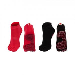 Ponožky pro cvičení DR SOXO - SOXO černá 36/39