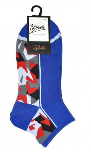 Pánské ponožky Ulpio Cosas LB-60/6 Mozaika bílá 39-42