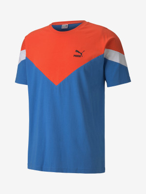 Tričko Puma Iconic Mcs Tee Modrá