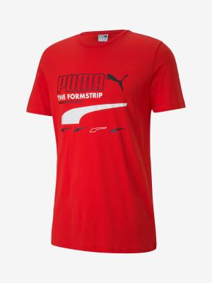 Tričko Puma Club Tee Červená