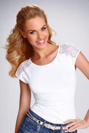 Dámské tričko Tosca white bílá