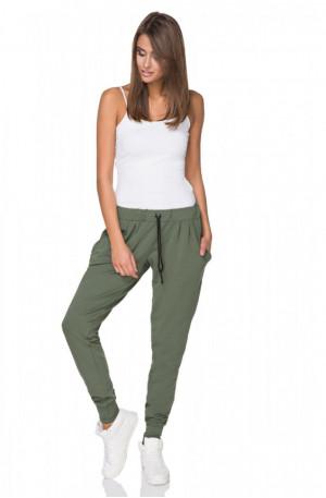 Teplákové kalhoty T213/2 - Tessita khaki