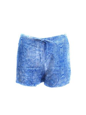Dámské pyžamové kraťasy QS6029-CMW modrá - Calvin Klein modrá