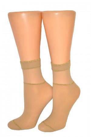 Dámské ponožky Veneziana Bianca univerzální