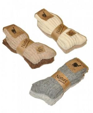 Ulpio Alpaka art.7410-7412  A'2 Ponožky 35-38 mix barva