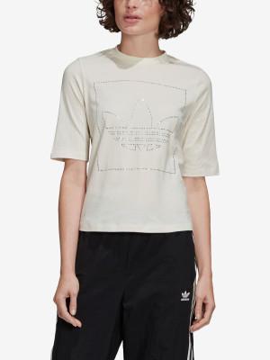 Tričko adidas Originals T Shirt Bílá