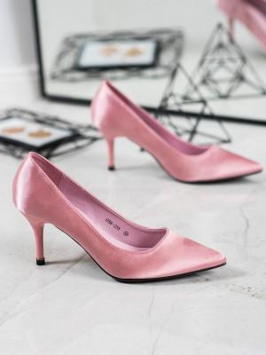 Trendy  lodičky dámské růžové na jehlovém podpatku