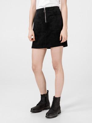 Cordatine Sukně Vero Moda Černá