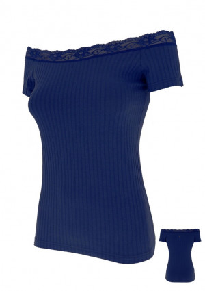 Dámské tričko Cotonella AD800 S Tm. modrá