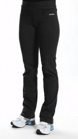 Dlouhé dámské kalhoty MAXI 0117 ocelová 2XL/30