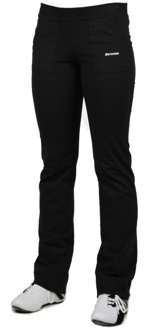 Dlouhé dámské kalhoty MAXI 0107 tmavě modrá 5XL/32