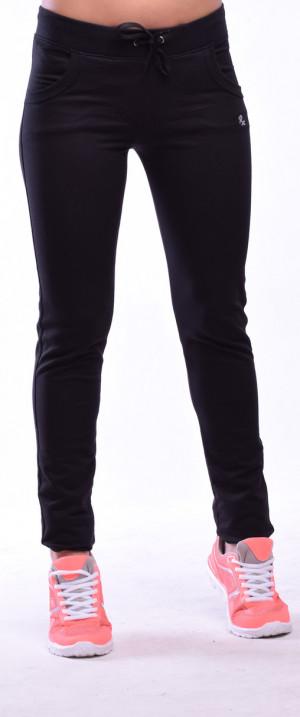 Dlouhé dámské kalhoty 0160 ocelová