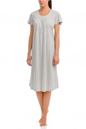 Dámská noční košile Aphrodite 12019-473 šedá - Vamp šedá 2XL
