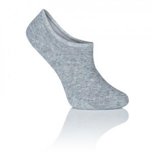 Dámské kotníkové ponožky CS08 - Mona šedá uni