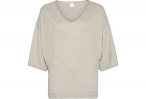 Dámská mikina QS6131E-YNH šedá - Calvin Klein šedá