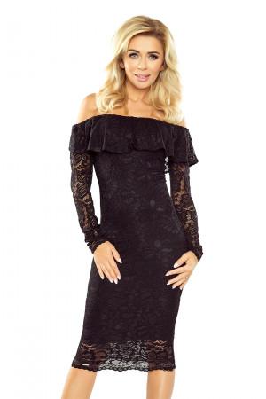 Dámské krajkové šaty 021-1 - Morimia černá